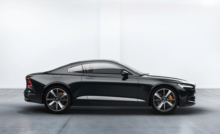 First Look: The electrifying 2020 Polestar 1 coupe is the first of three future electrified vehicles from Volvo